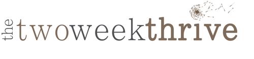 Two Week Thrive Logo
